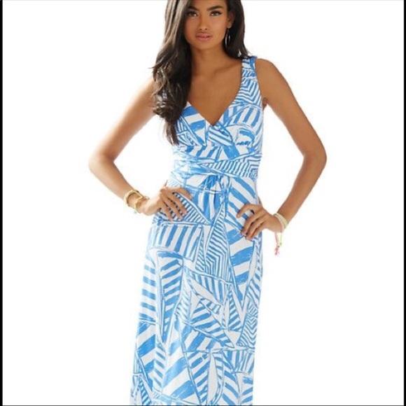 Lilly Pulitzer Dresses Sloane Maxi Dress Xs Poshmark